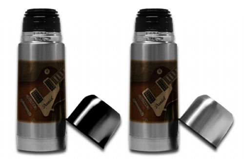 350ml - Personalised Guitar Music Rock Band Novelty Thermos Flask